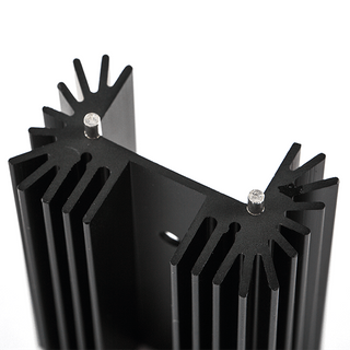 Pin fin heat sink made by Shunho metal solutions