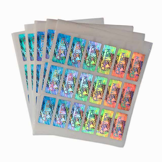 3d holographic stickers made by Shunho printing solutions