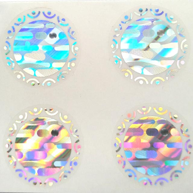 3d hologram sticker made by Shunho printing solutions